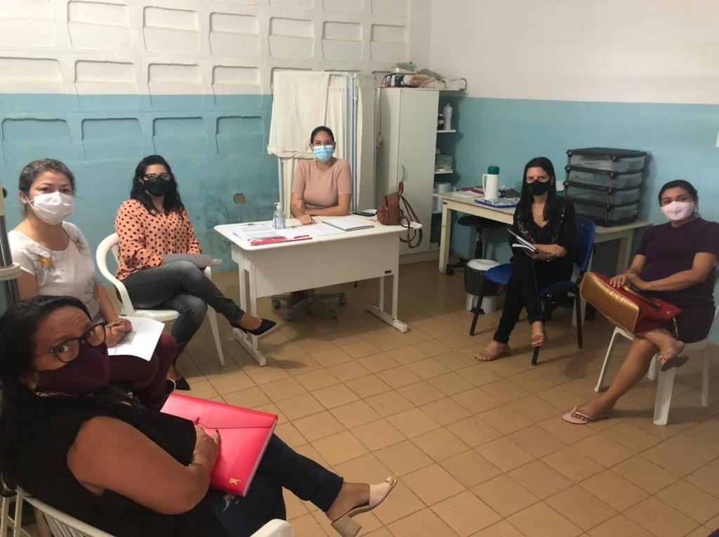 Reunião com os gestores das Escolas discutem ações de prevenção a COVID-19