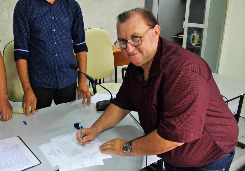 Vice-Prefeito Marcos Freitas assume interinamente prefeitura de Boqueirão