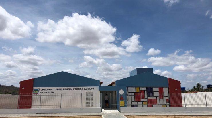 Prefeito inaugura nova escola na Comunidade do Sangradouro