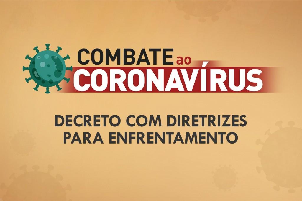 Prefeitura decreta medidas preventivas no combate ao COVID-19