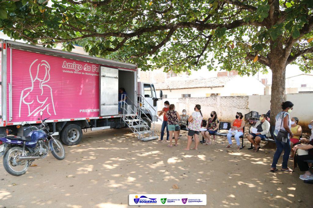 Exames de Mamografias são feitos por meio da Secretaria de Saúde