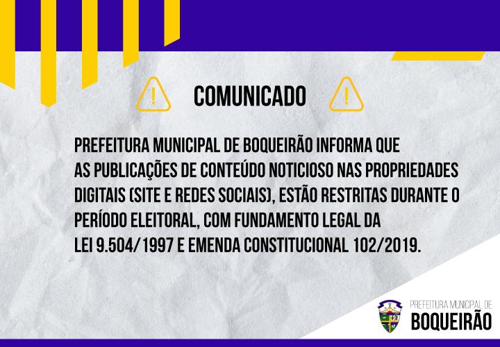 Período Eleitoral Lei.9.504/1997