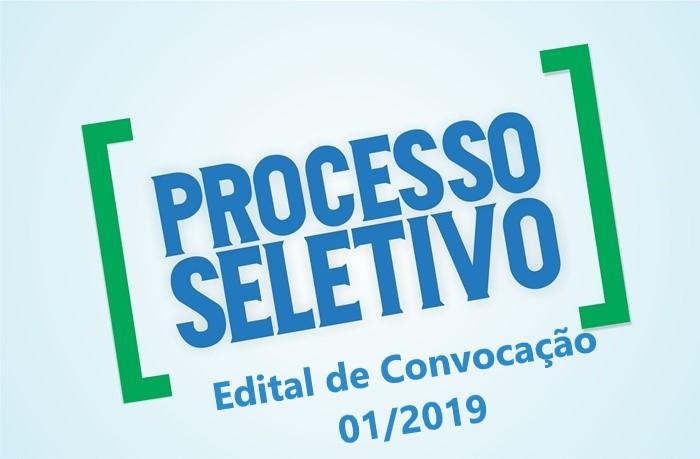 1ª Convocação do Processo Seletivo - SMS - Edital 01/2019