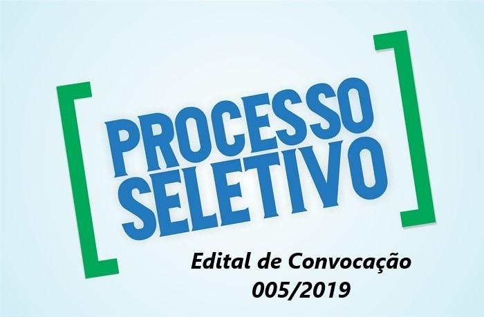 5º Edital de Convocação PSS/SMS - 2019 - Atenção
